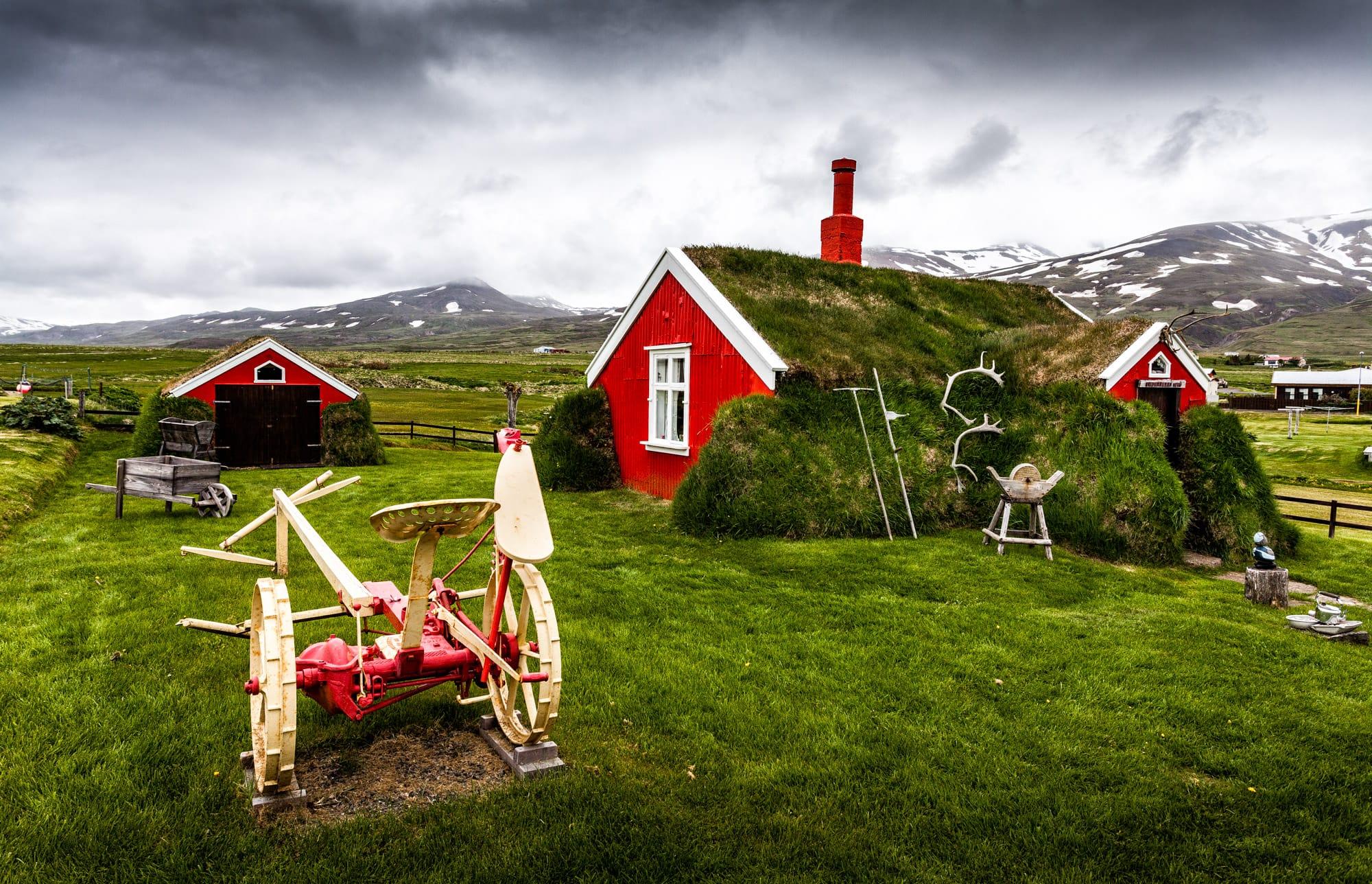 Island Hütte