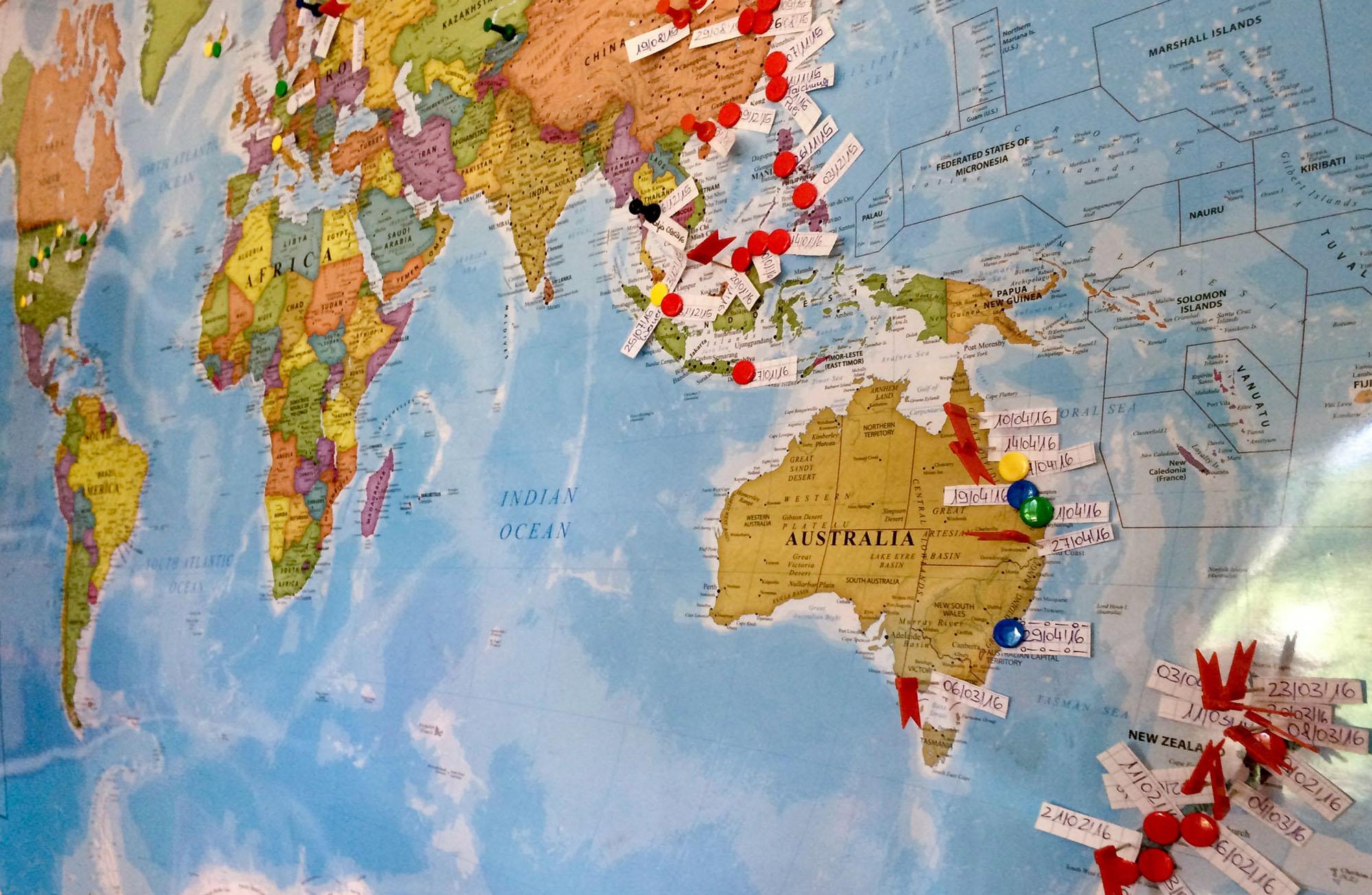Weltreise beendet – In 352 Tagen die Erde umrundet