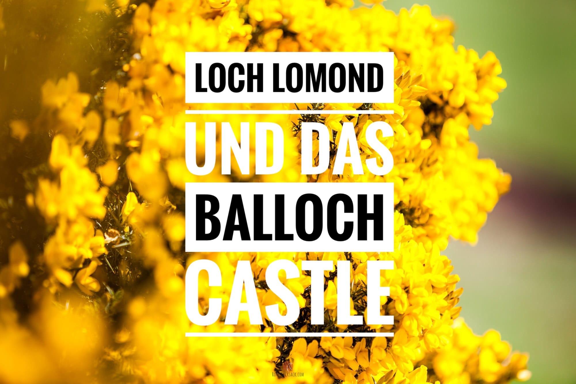 Loch Lomond, Loch Long und unsere erste Wanderung in Schottland