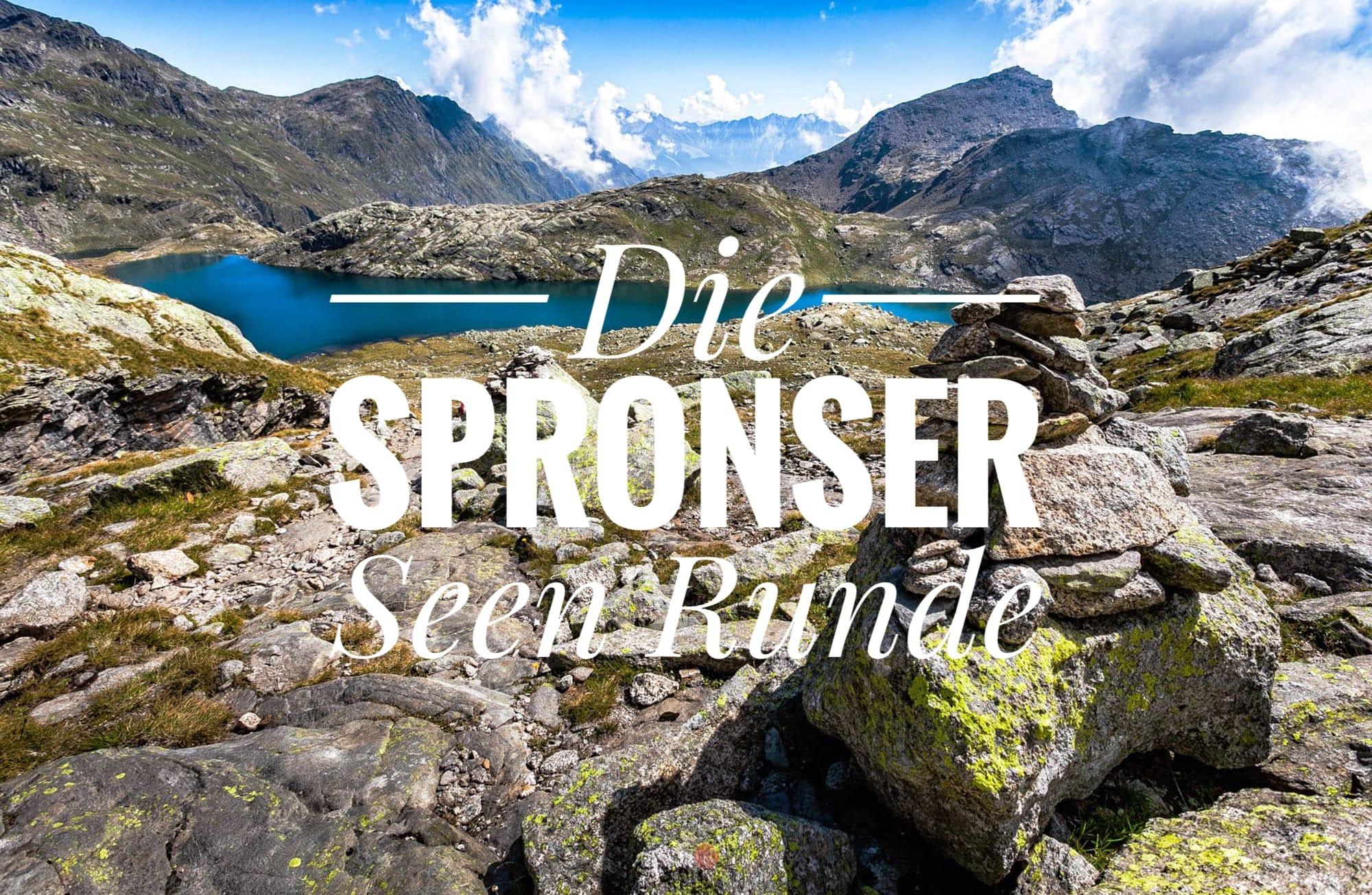 Spronser Seen Runde – Wandern in der Texelgruppe