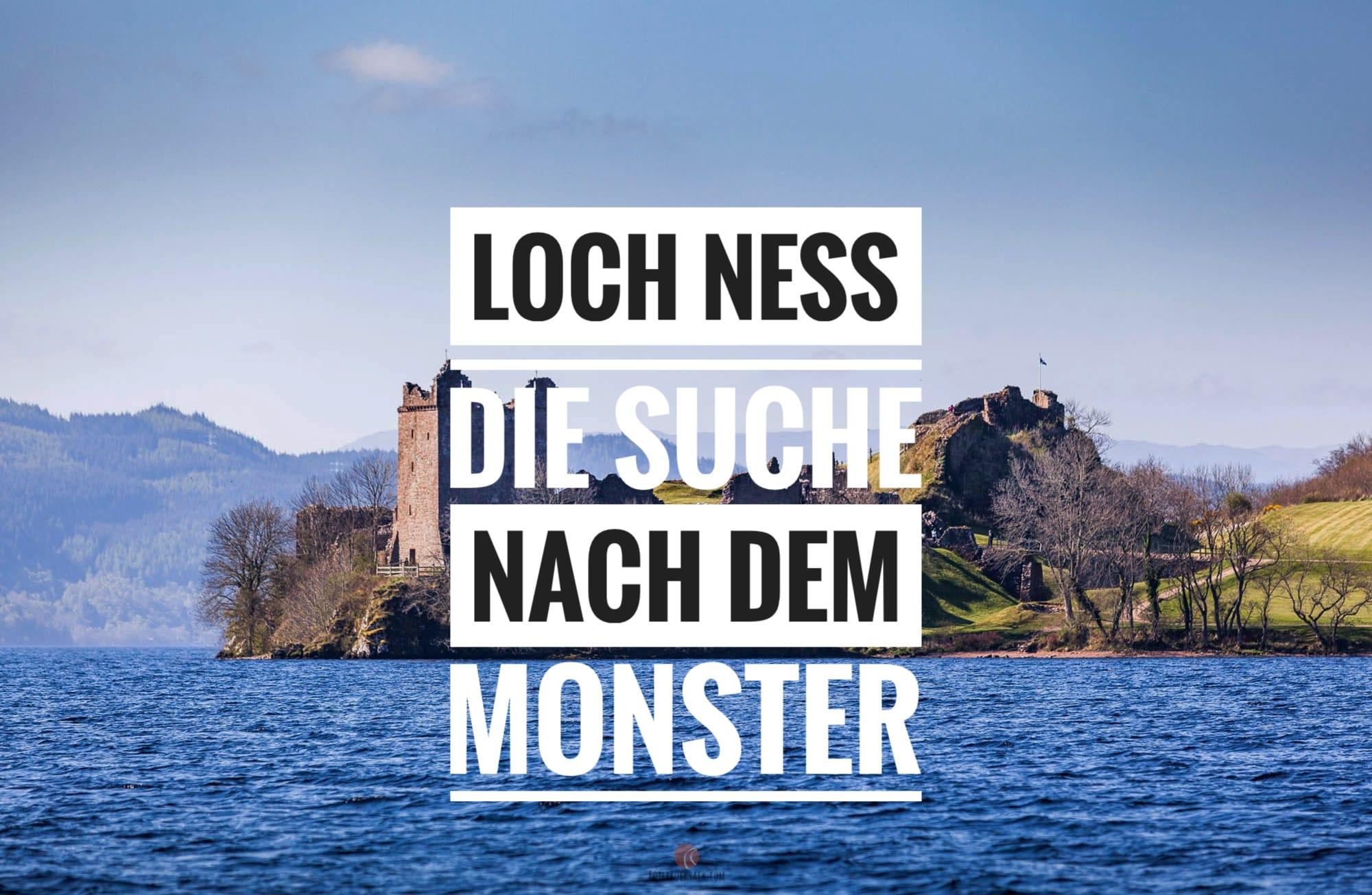 Loch Ness – Von Monstern, Burgen und Schottlands schottister Stadt