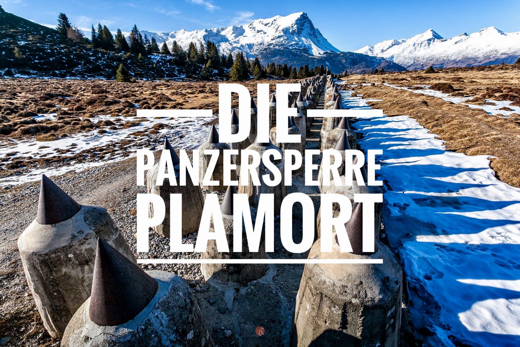Die Panzersperre Plamort bei Reschen – Wandern im Vinschgau