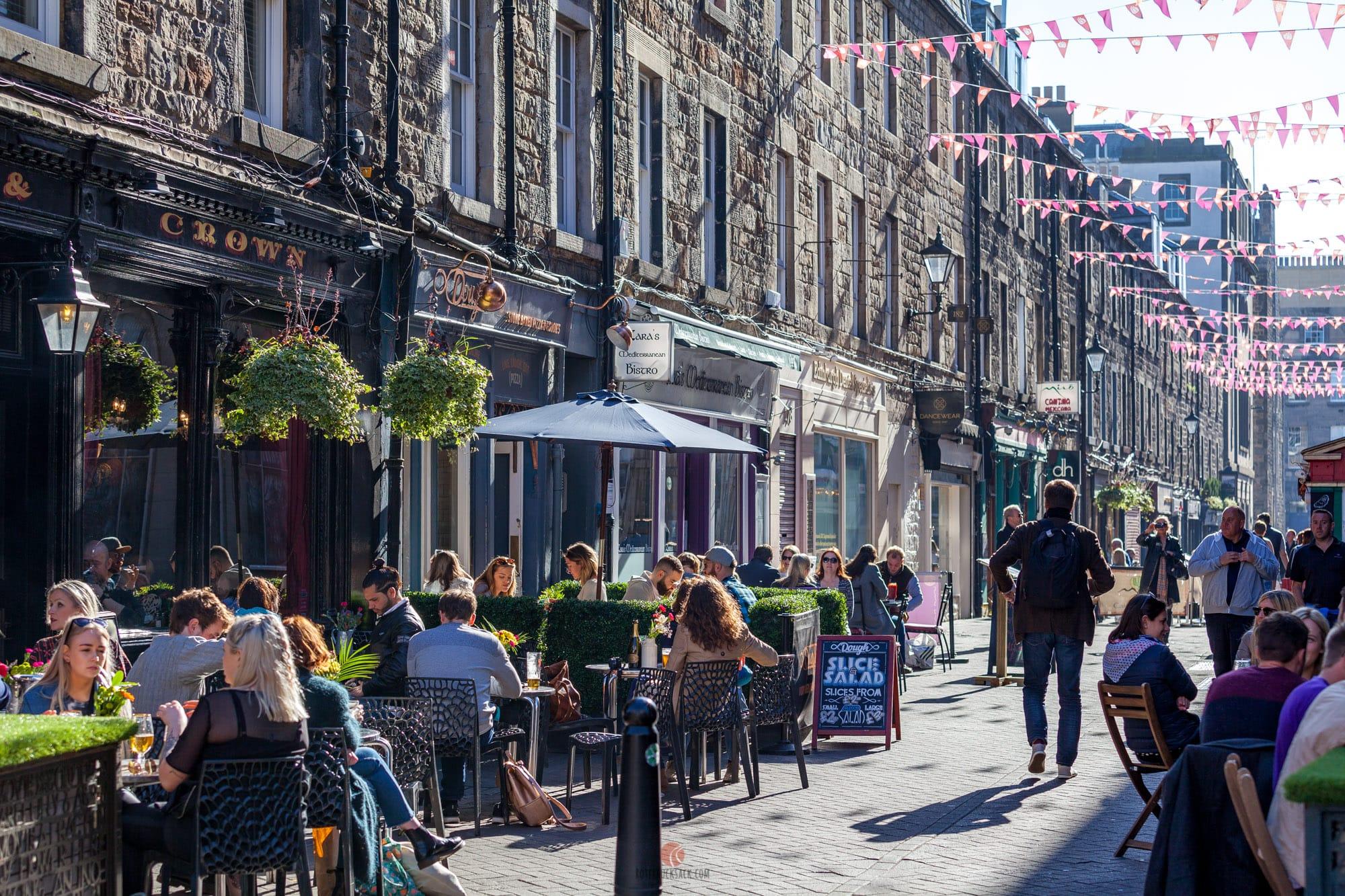 Edinburgh Restaurants In George Street