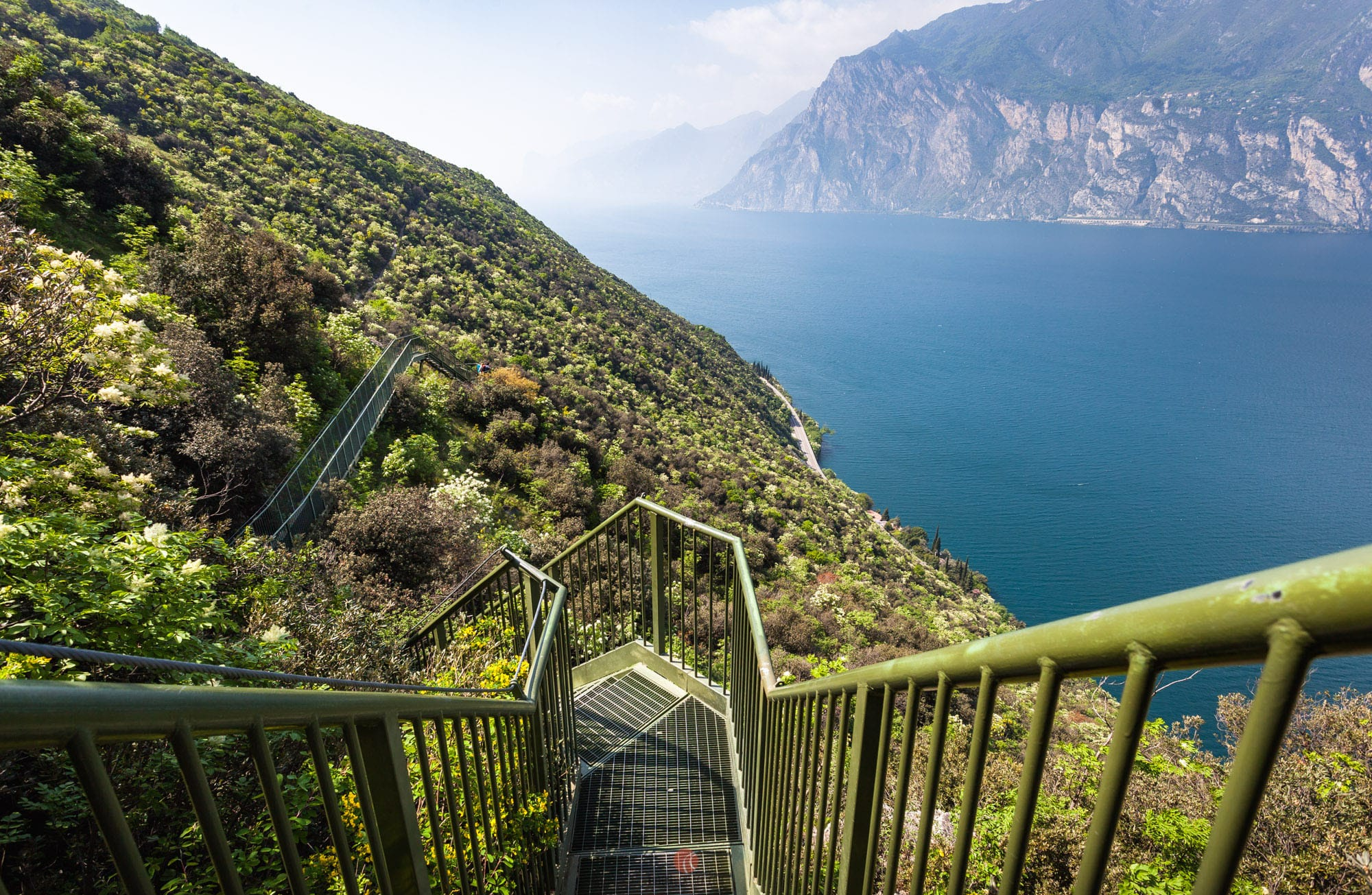 wanderwege gardasee karte Panoramaweg Busatte Tempesta – Wandern am Gardasee