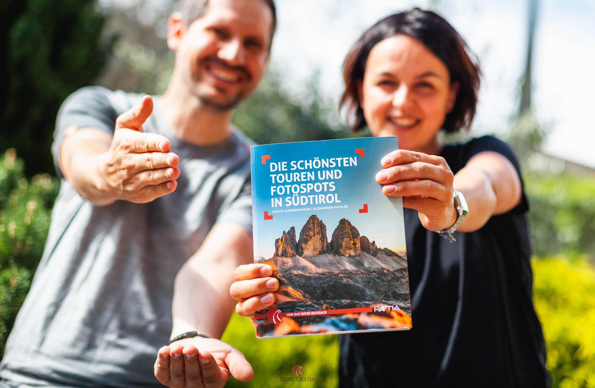 Die schönsten Touren und Fotospots in Südtirol – Das Roter Rucksack Wanderbuch