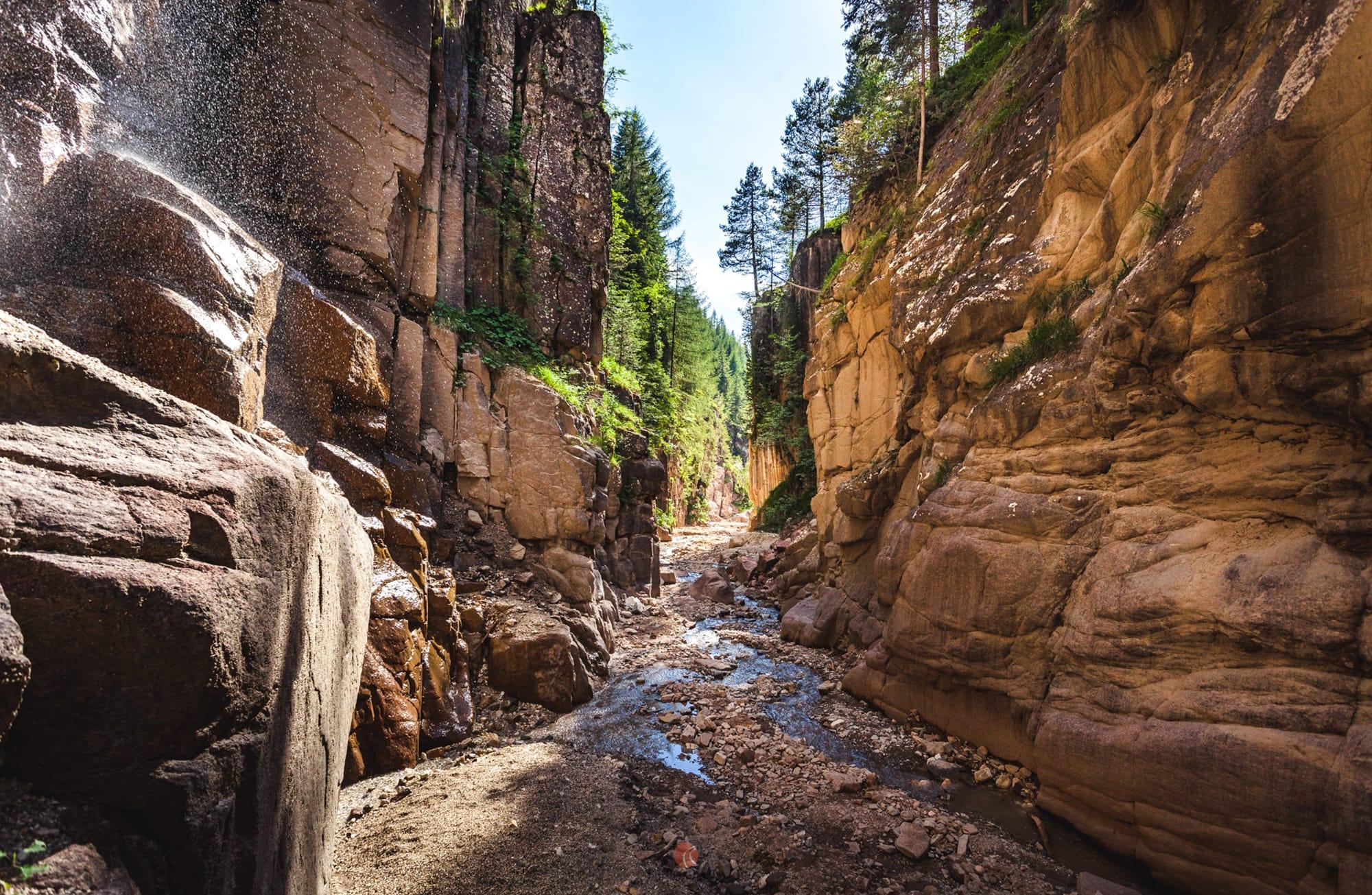Wanderung durch Bletterbachschlucht und auf das Weißhorn