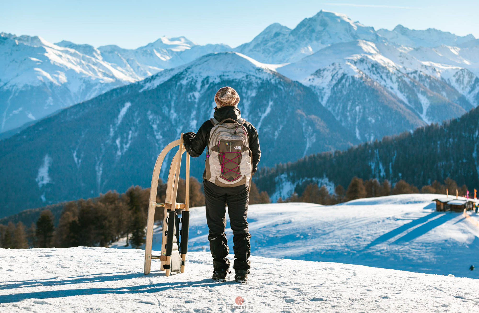 Rodelbahn Watles im Obervinschgau – Rodeln in Südtirol